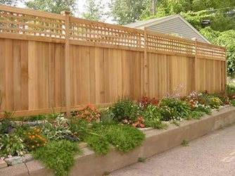 charlotte fencing wood cedar privacy fence